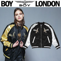 BOY LONDON Street Style Other Animal Patterns Souvenir Jackets