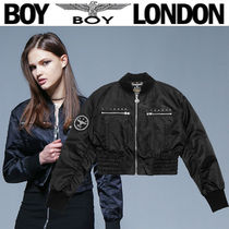 BOY LONDON Short Street Style Other Animal Patterns MA-1 Bomber Jackets