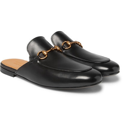 346dca7e8 GUCCI Leather U Tips Loafers & Slip-ons (N/A) by esmplus - BUYMA