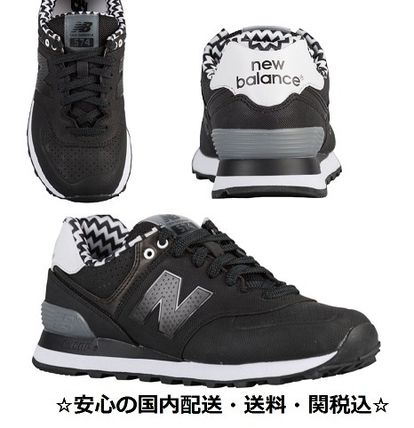 New Balance Casual Style Leather Low-Top Sneakers