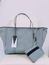 Ron Herman Casual Style Unisex A4 Plain Totes