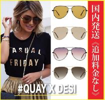 Quay Eyeware Australia Collaboration Tear Drop Sunglasses