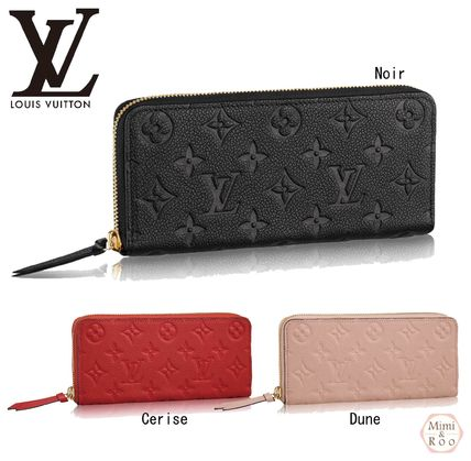 PORTEF ILLE CLEMENCE Zip Round long wallet