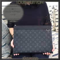 Louis Vuitton MONOGRAM Monogram Unisex Canvas Bag in Bag 2WAY Clutches