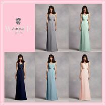Vera Wang V-Neck Party Dresses