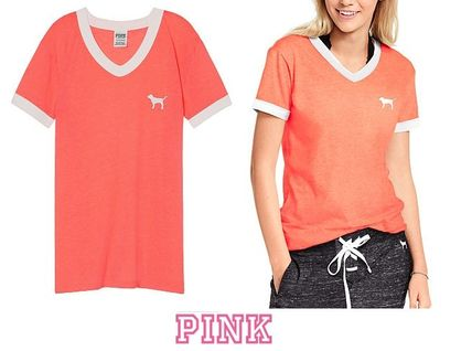 f9c667465 ... Victoria s secret T-Shirts Casual Style Collaboration Short Sleeves T- Shirts ...