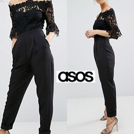 ASOS Dresses Dungarees Long Party Style Lace Dresses