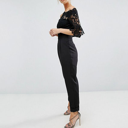 ASOS Dresses Dungarees Long Party Style Lace Dresses 4