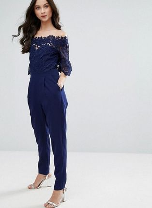 ASOS Dresses Dungarees Long Party Style Lace Dresses 8