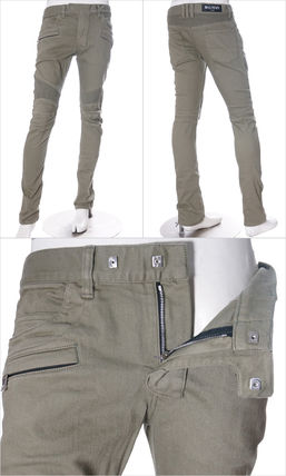 BALMAIN More Jeans Tapered Pants Street Style Plain Cotton Jeans 2