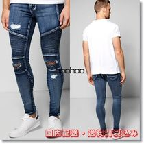 boohoo Denim Street Style Plain Skinny Fit Jeans & Denim