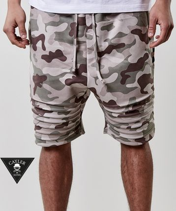 CAYLER&SONS Printed Pants Camouflage Street Style Shorts