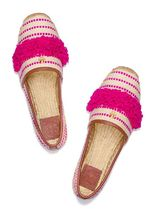 Tory Burch Casual Style Tassel Bi-color Fringes Elegant Style Flats