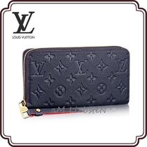 Louis Vuitton MONOGRAM EMPREINTE Monogram Leather Long Wallets