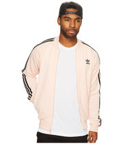 adidas Short Stripes Street Style Track Jackets
