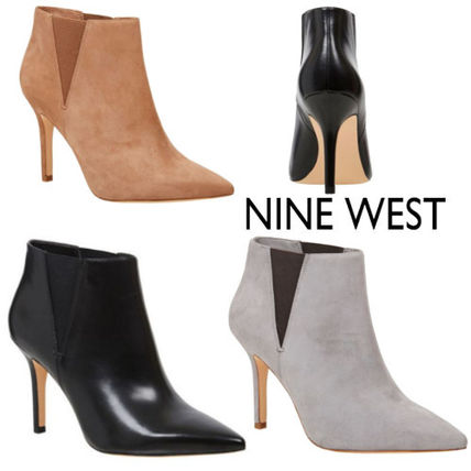 Pin Heels Ankle & Booties Boots