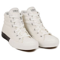 UNIF Clothing Plain Toe Casual Style Street Style Plain Low-Top Sneakers