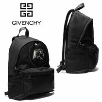 GIVENCHY Street Style A4 Plain Other Animal Patterns Backpacks