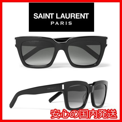 Sunglasses Bold Square Flame
