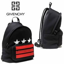 GIVENCHY Star Street Style A4 Backpacks