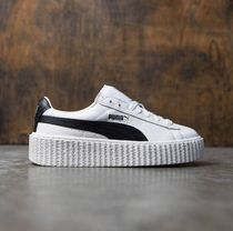 PUMA FENTY Casual Style Street Style Collaboration Plain Leather