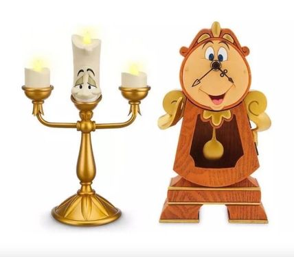 North American Disney beauty and the beast LUMIERE &