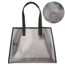 KENZO Casual Style PVC Clothing Totes