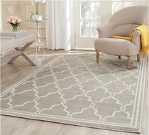 Geometric Patterns Black & White Carpets & Rugs