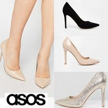 ASOS Pin Heels Office Style Pointed Toe Pumps & Mules