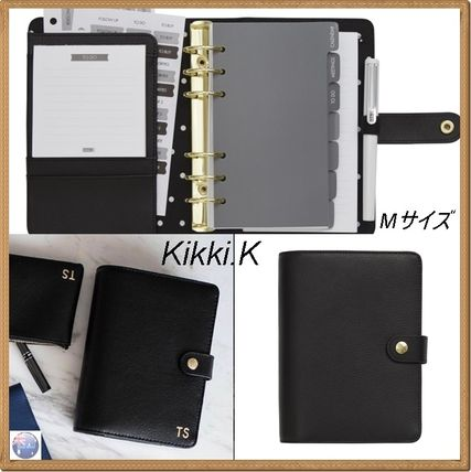 Kikki.K character put-m multi-purpose notebook size/leather