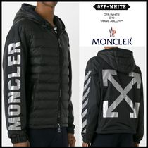 moncler off white parka