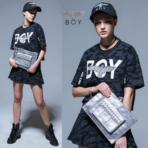 BOY LONDON Camouflage Street Style Other Animal Patterns Clutches