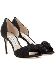 Jimmy Choo Open Toe Plain Elegant Style Peep Toe Pumps & Mules