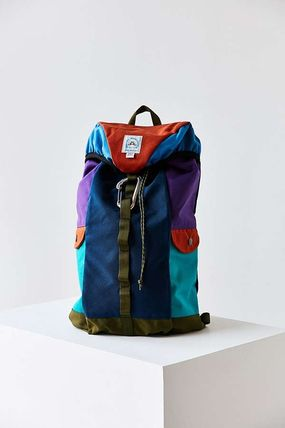 Casual Style Canvas Street Style A4 Backpacks