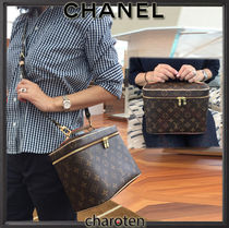 Louis Vuitton MONOGRAM Monogram Canvas Vanity Bags 2WAY Elegant Style Bags