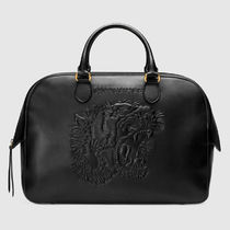 GUCCI Other Animal Patterns Leather Boston Bags