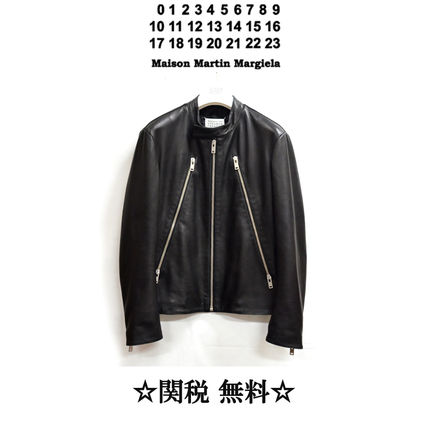 Maison Margiela H-shaped riders jacket
