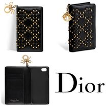 Christian Dior LADY DIOR Studded Smart Phone Cases