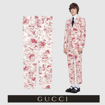 GUCCI Other Animal Patterns Cotton Cropped Pants