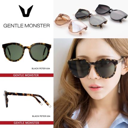 21dcdc8383c5 Gentle Monster 2017 SS Unisex Round Oversized Sunglasses by ショッピングSTAR☆K -  BUYMA