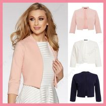 Lipsy Short Casual Style Plain Jackets