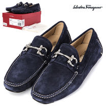 Salvatore Ferragamo Loafers Street Style Plain Leather Loafers & Slip-ons