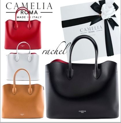 A4 Plain Leather Office Style Handbags