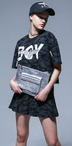 BOY LONDON Casual Style Faux Fur Studded Clutches