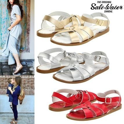 Casual Style Plain Leather Shoes