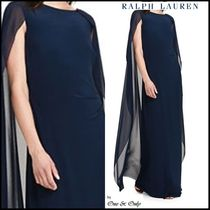 Ralph Lauren Maxi Sleeveless Plain Long Party Dresses