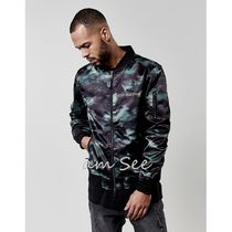 CAYLER&SONS Camouflage Street Style MA-1 Bomber Jackets