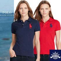 Ralph Lauren Plain Cotton Medium Short Sleeves Polos