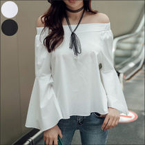 Casual Style Street Style Plain Cotton Medium