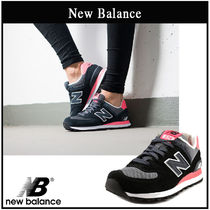 New Balance 574 Casual Style Street Style Plain Low-Top Sneakers